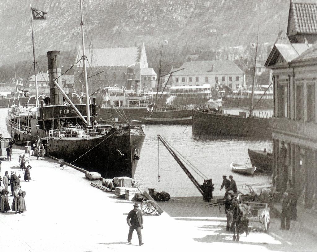 Petanebryggen, Bergen